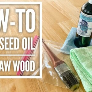 How-To Use Hemp Seed Oil On Raw Wood   Wise Owl Paint Hemp Seed Oil